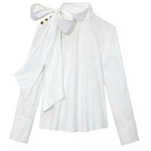 Ulla Johnson Penelope Blouse White Shirt top sz 0